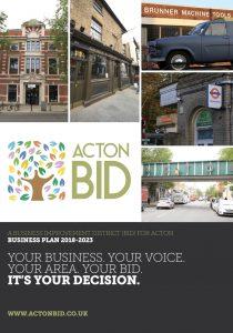 Acton BID business plan cover