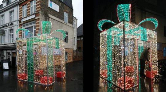 Christmas 3D present box