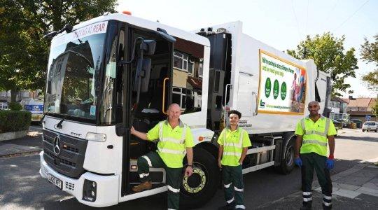 Greener Ealing refuse truck