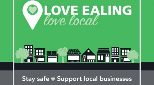 Love Ealing Love Local poster