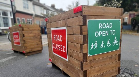 Road Closure Due to LTNs